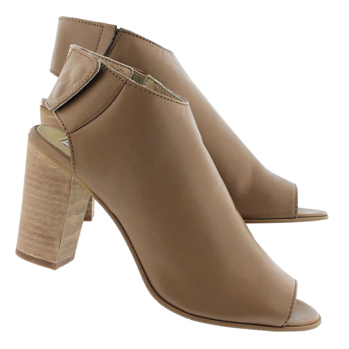 Lds Nonstop nat peep toe dress sandal