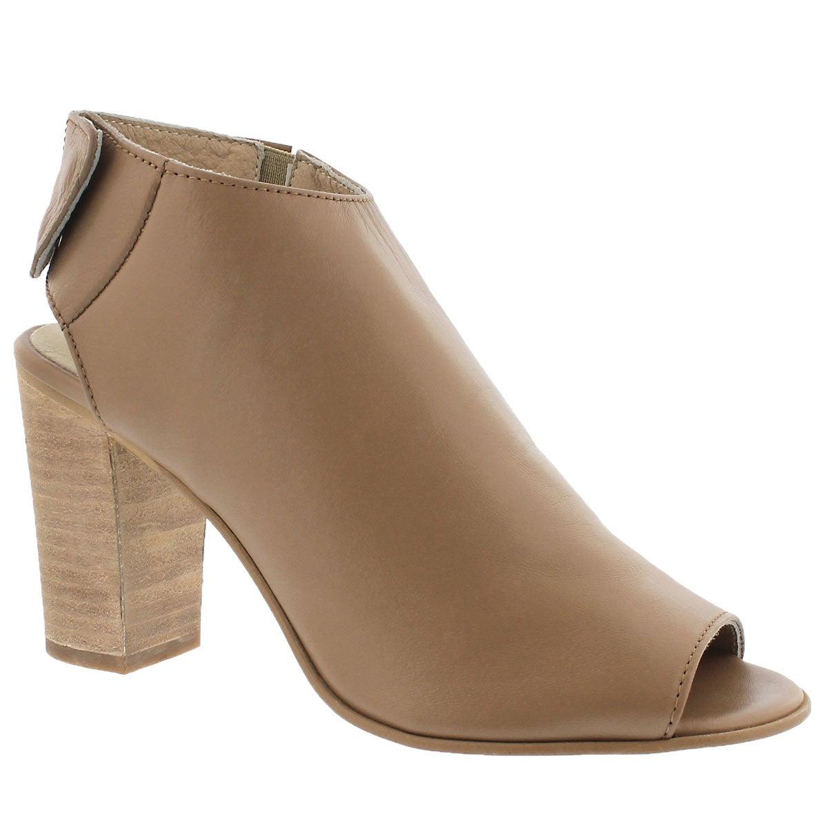 Women's NONSTOP natural peep toe dress sandals
