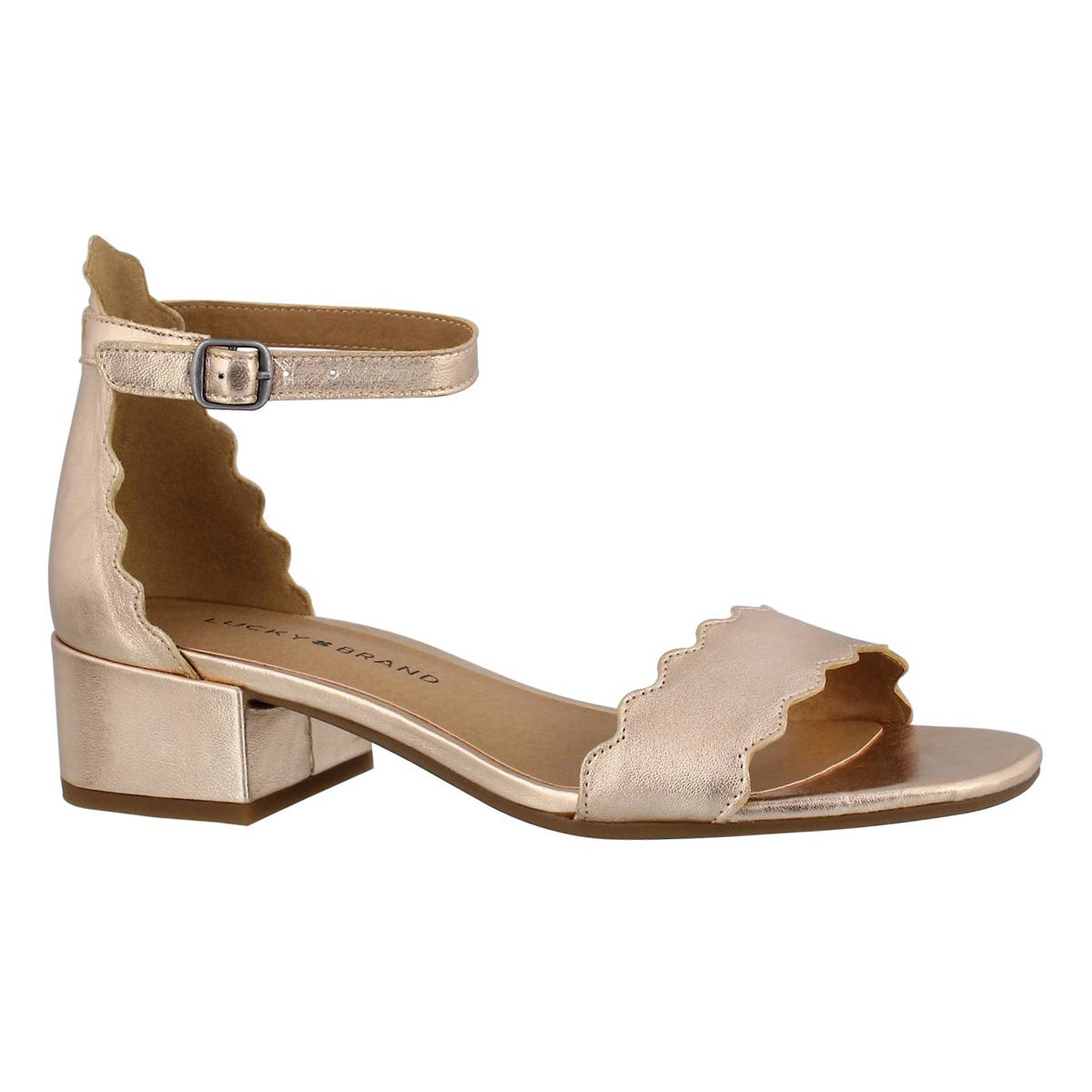 Lds Norreys pale rse gld dress sandal