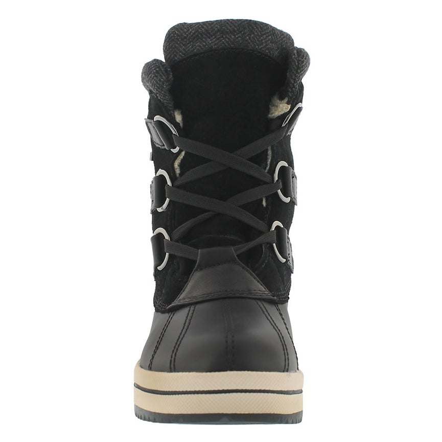Lds North Bay blk wtpf winter boot