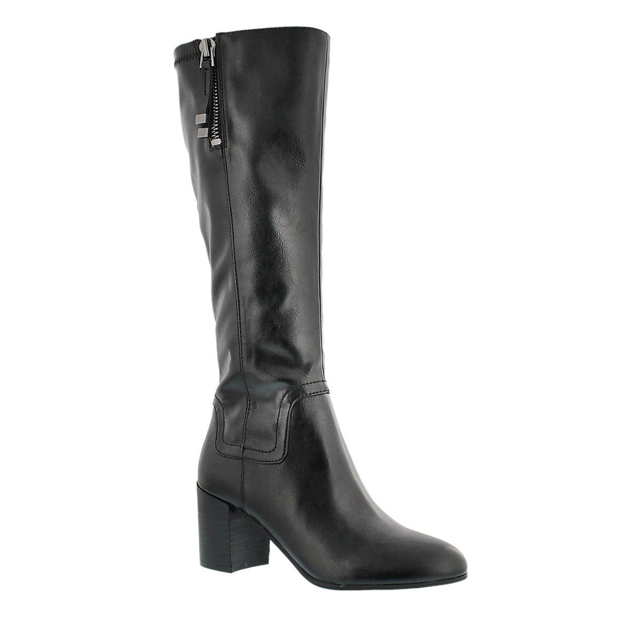Lds Nostalgia blk hi dress boot