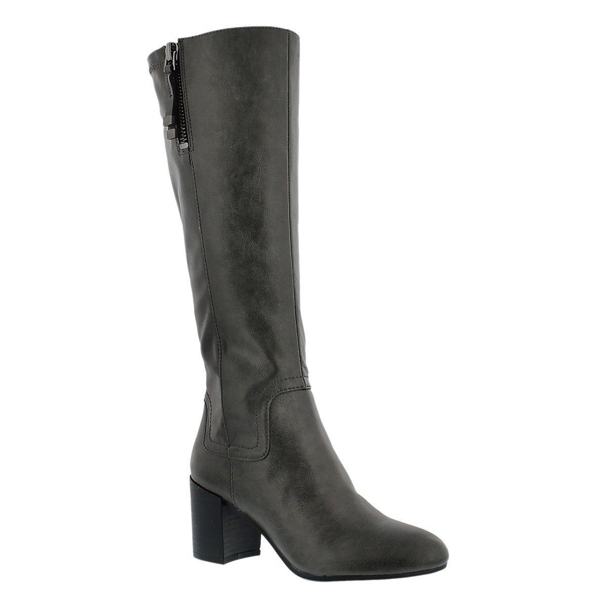 Lds Nostalgia charcoal hi dress boot