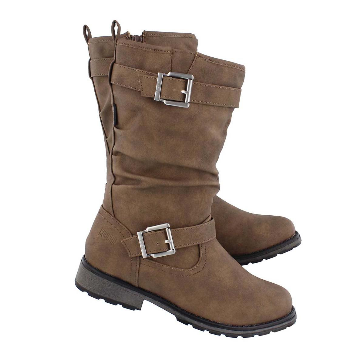 Grls Nota cafe wpf mid calf boot