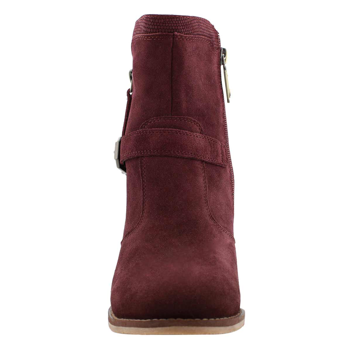 Lds Nova burgundy wtpf zip ankle boot