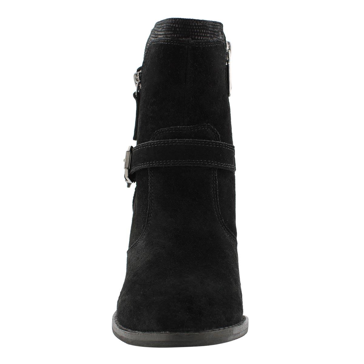 Lds Nova blk wtpf zip ankle boot