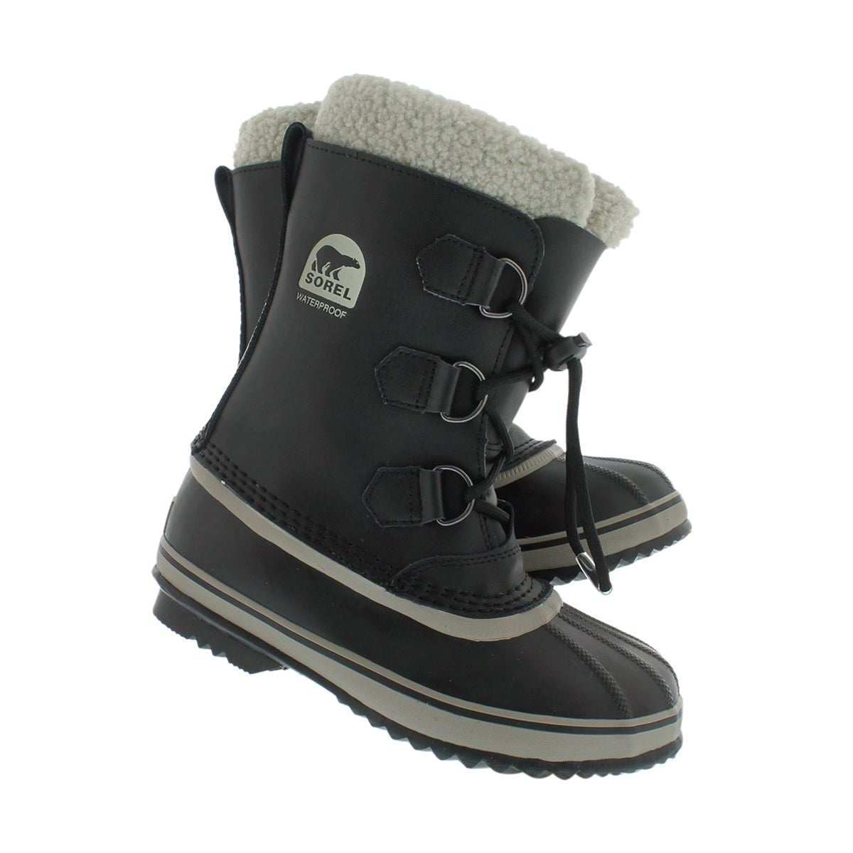 Bys Yoot Pac TP blk wtpf winter boot