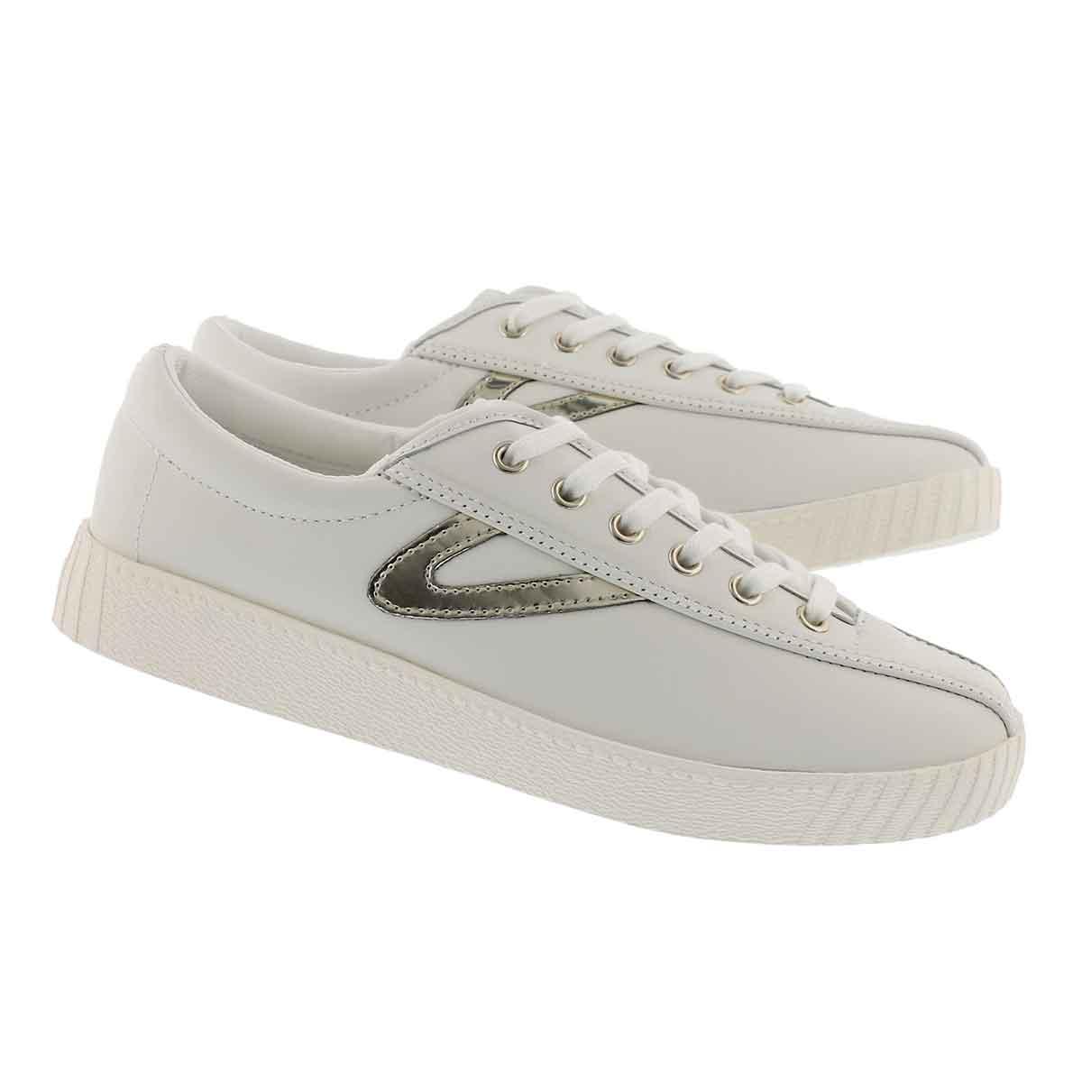 Lds Nylite 2 Plus white/gold sneaker