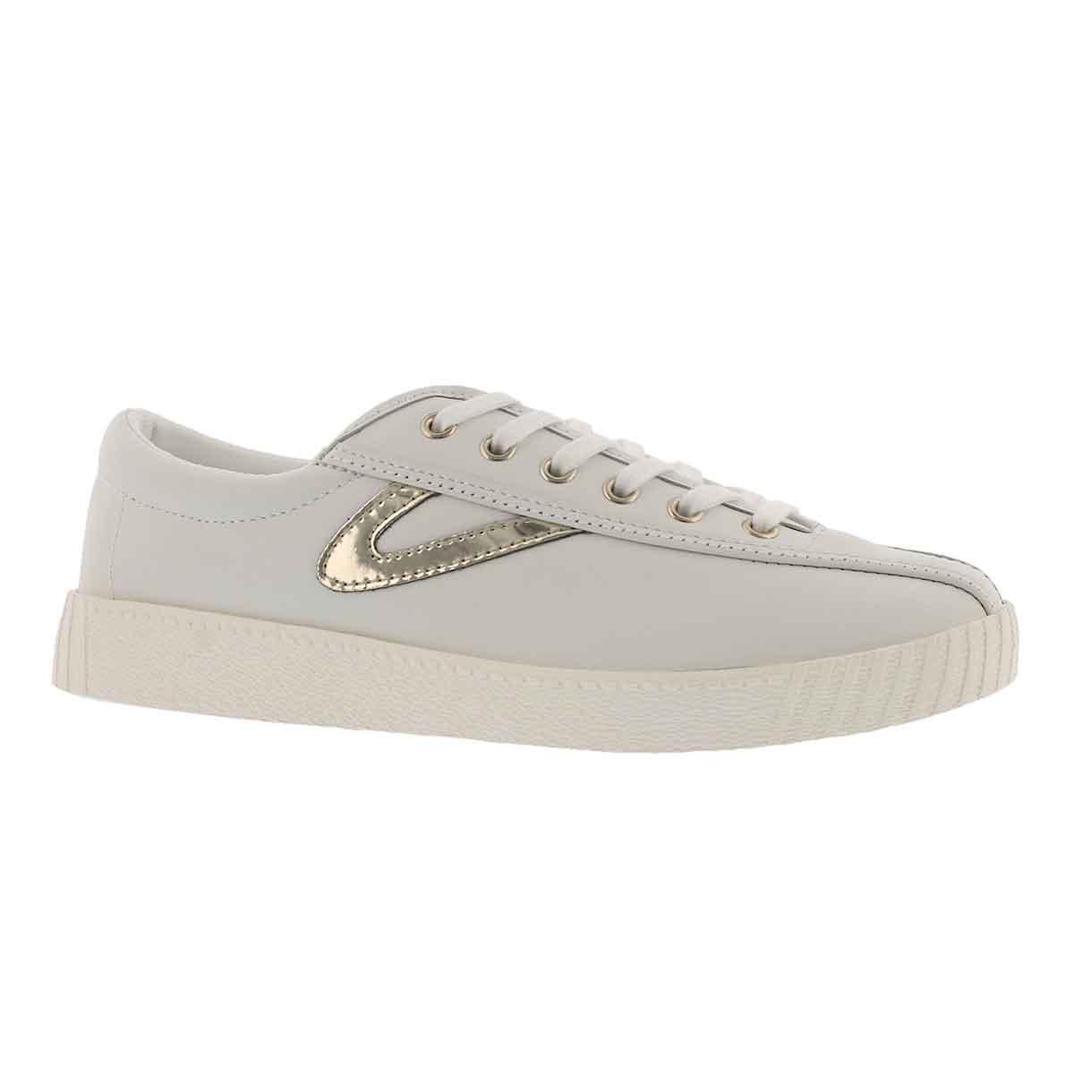 Women's NYLITE 2 PLUS white/gold sneakers