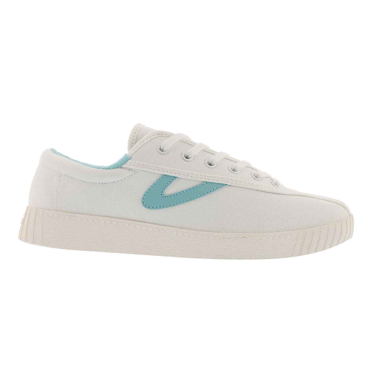 Lds Nylite Plus white/blue sneaker