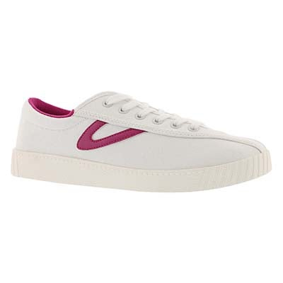 Lds Nylite Plus white/berry sneaker