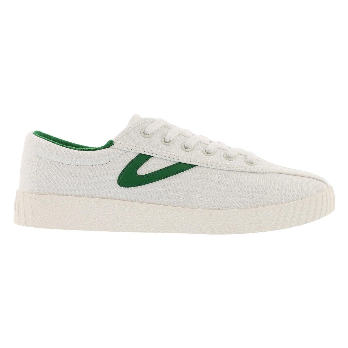 Lds Nylite Plus white/green sneaker