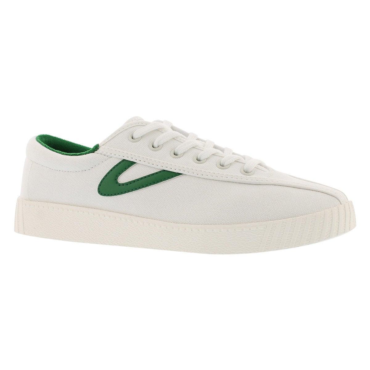 Women's NYLITE PLUS white/green sneakers