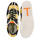 Lds Nylite Rugby black/yellow sneaker