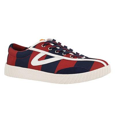 Lds Nylite Rugby blue/orange sneaker