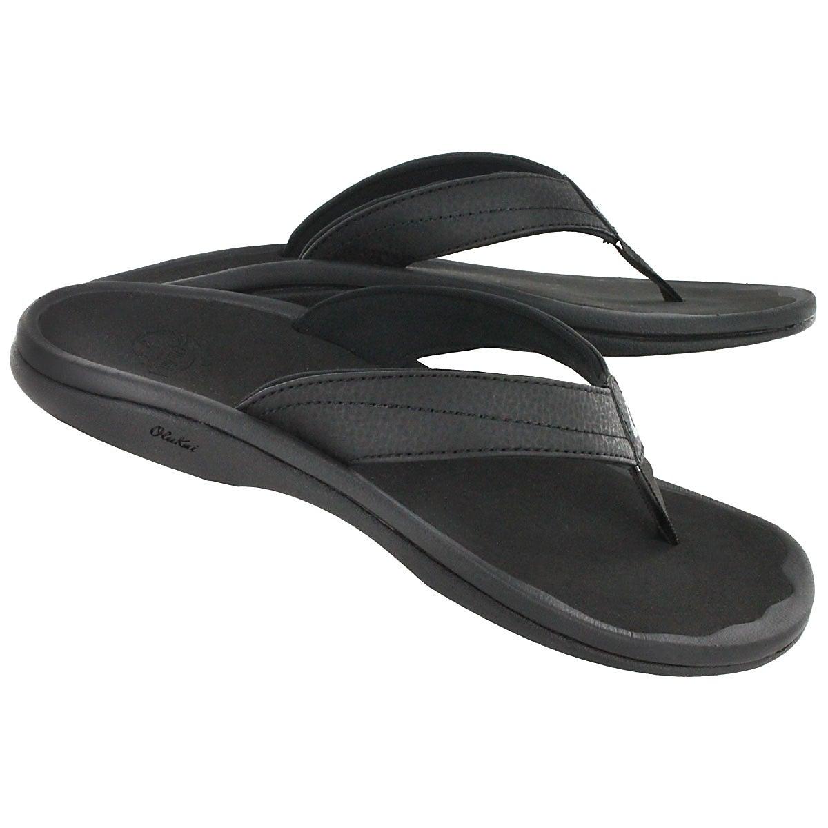 Lds Ohana black thong sandal