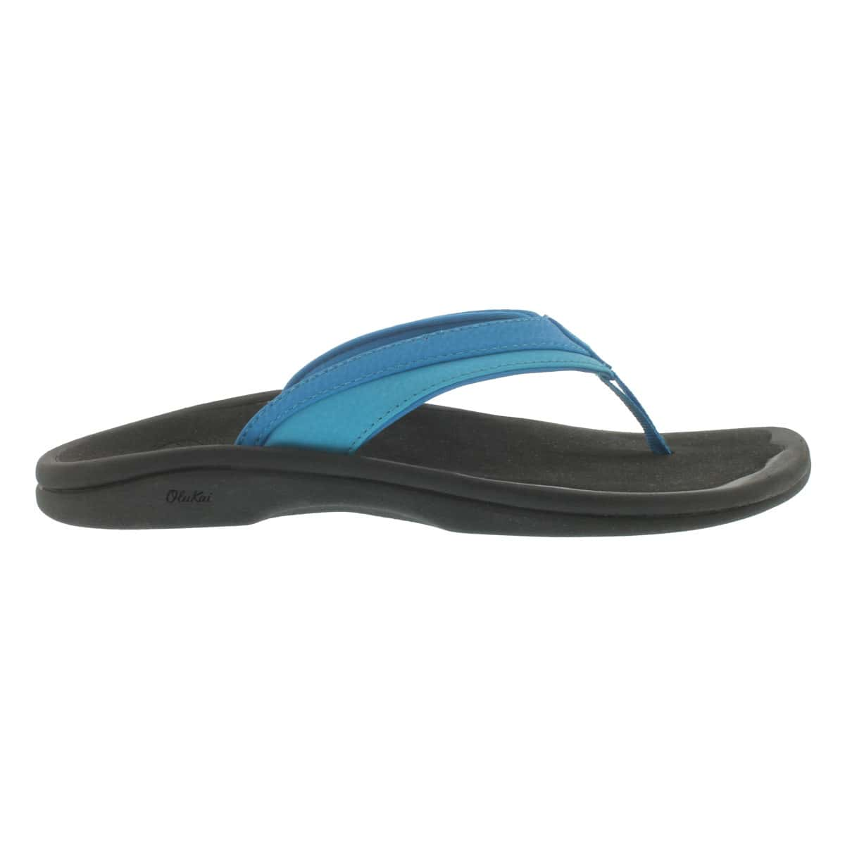 Lds Ohana tropical blue thong sandal