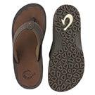 Mns Ohana dark java thong sandal