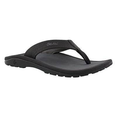 Sandale tong Ohana, noir/ombre, hom