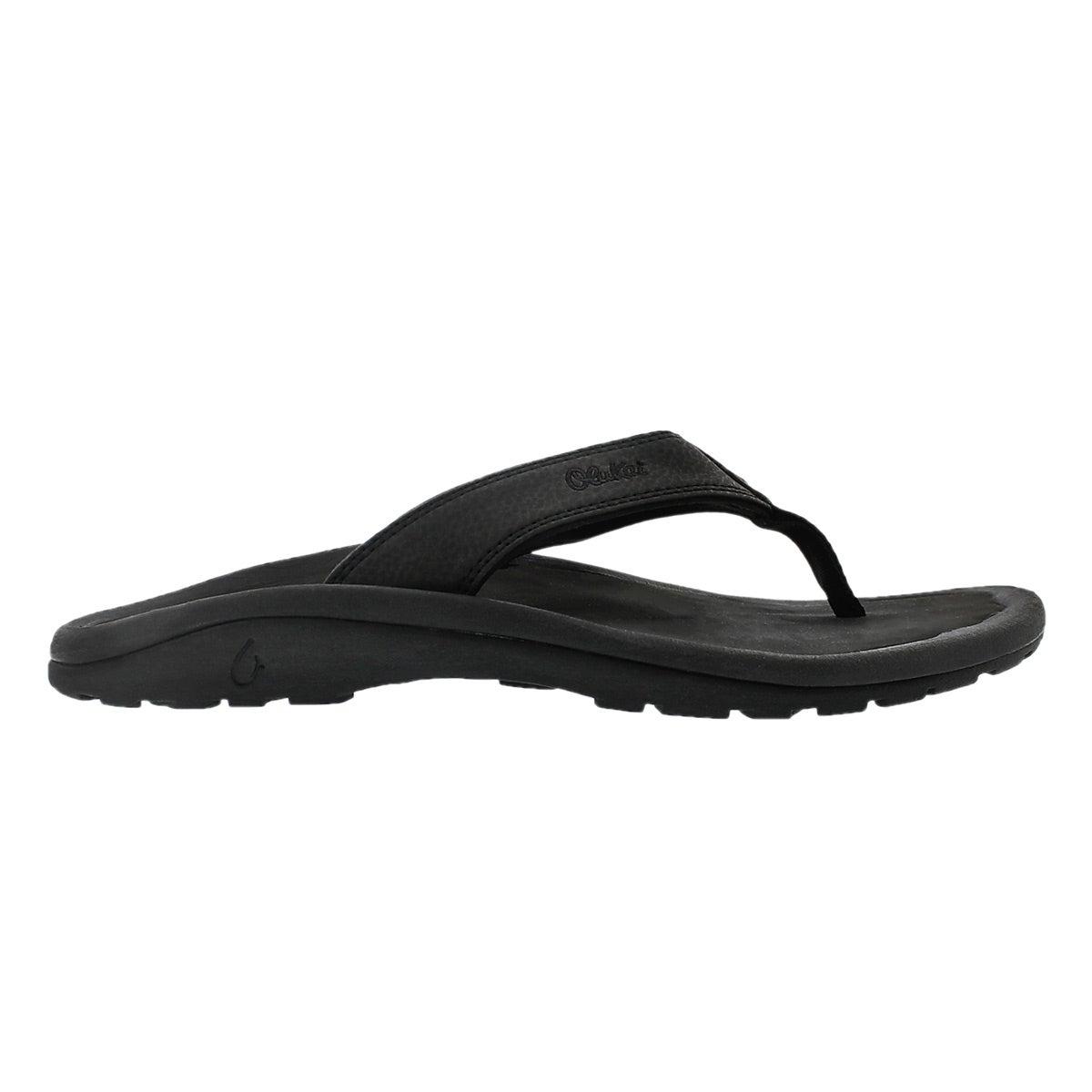 Mns Ohana black thong sandal