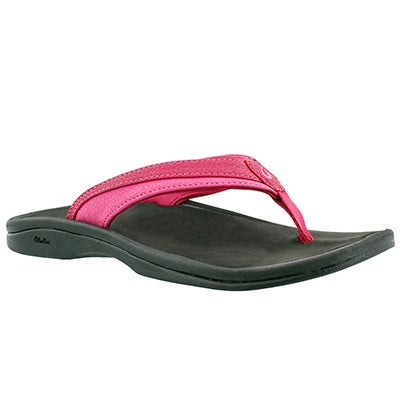 OluKai Women's OHANA punch thong sandals
