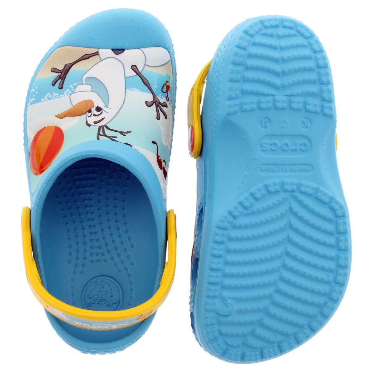 Kds Olaf electric blue EVA comfort clog