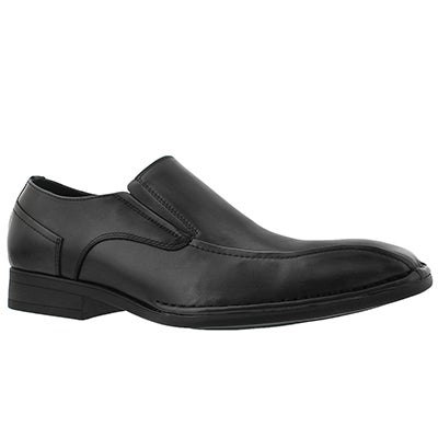 SoftMoc Men's OLIVIERI black dress loafers - Wide