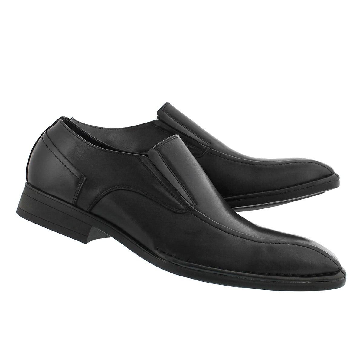 Mns Olivieri black dress loafer - Wide