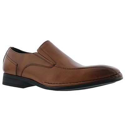 Mns Olivieri cognac dress loafer - Wide