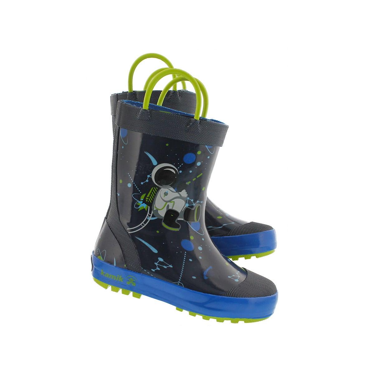 Infs Orbit navy rain boot
