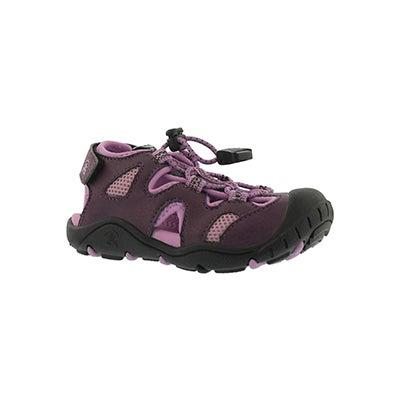 Infs-g Oyster2 dark purple fshrmn sndl