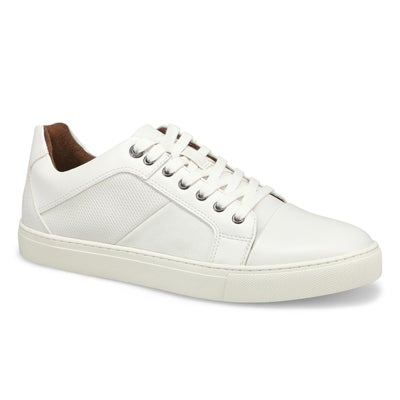 Mns P-Yardley wht lace up casual sneaker