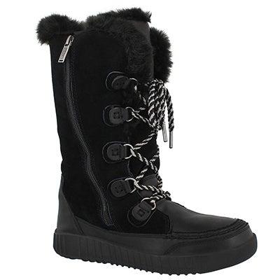 Lds Paityn blk wtpf tall winter boot
