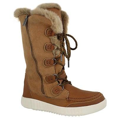 Lds Paityn tan wtpf tall winter boot