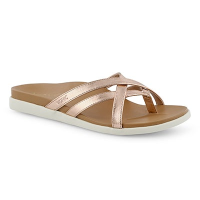 Lds Palm Daisy rosegld arch support thng