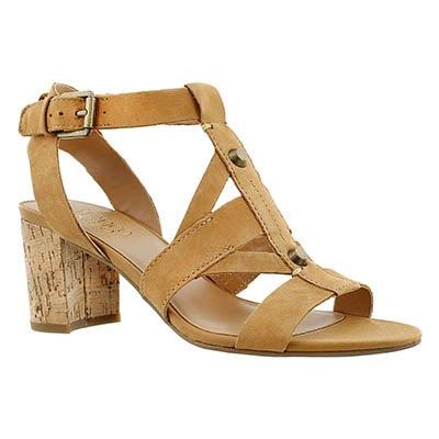 Sandale habillée Paloma, biscuit, femmes