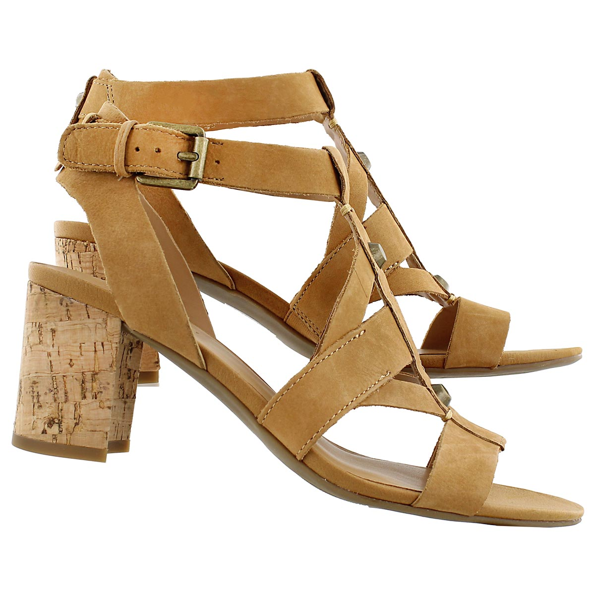 Lds Paloma biscuit dress sandal