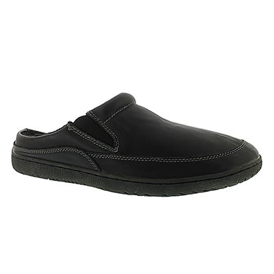 Mns Parkdale black open back slipper