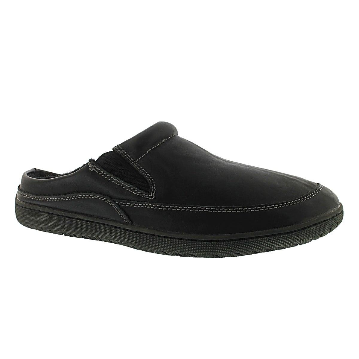 Mns Parkdale black open back slipper
