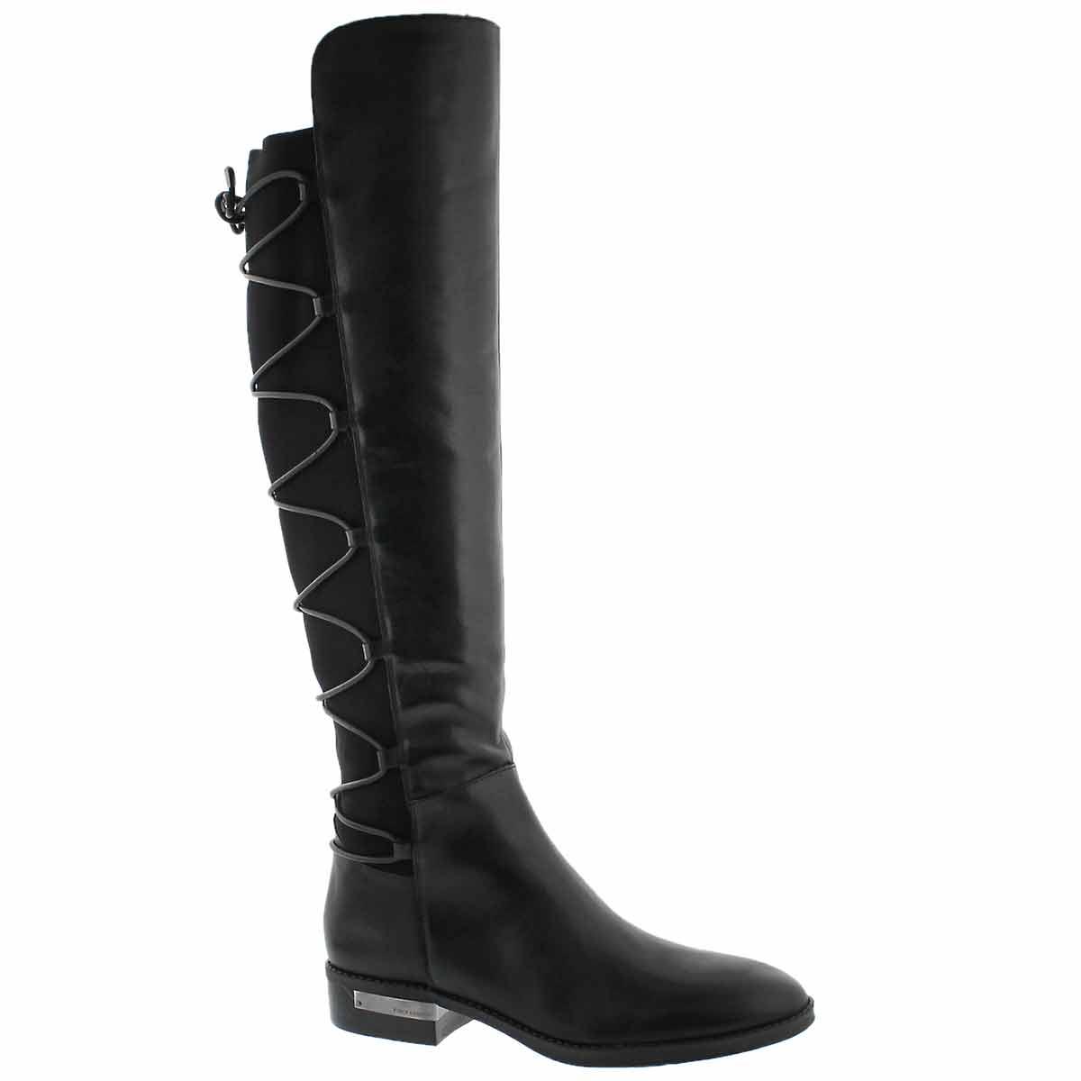 Women's PARLE black knee high dress boots