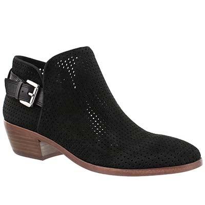 Lds Paula black casual booties