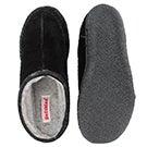 Mns Pauly III blk suede open slipper