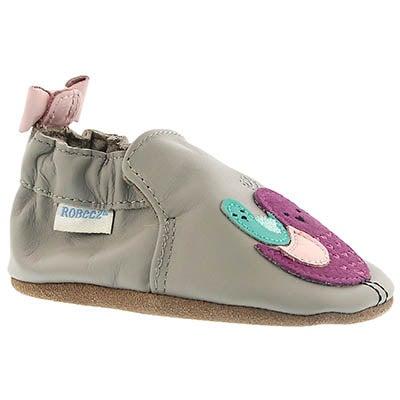 Inf Peaceful Partridge grey slipper