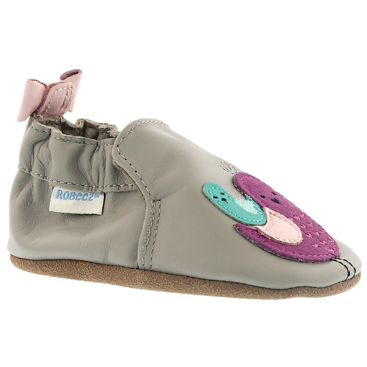 Infants' PEACEFUL PARTRIDGE grey slippers