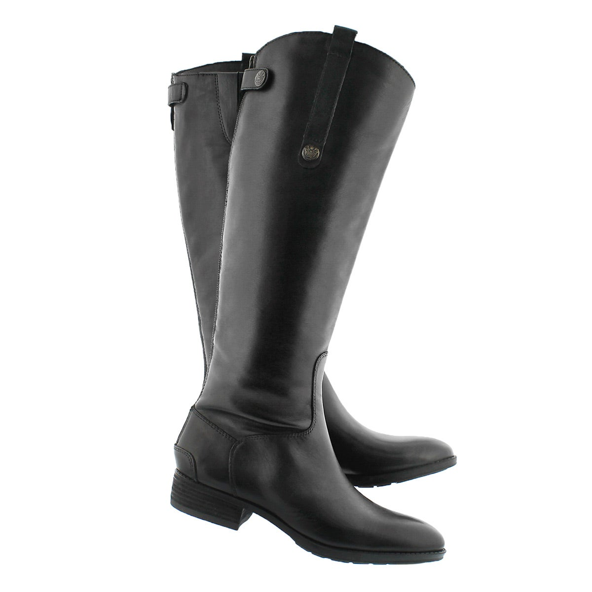 Lds Penny black tall riding boot