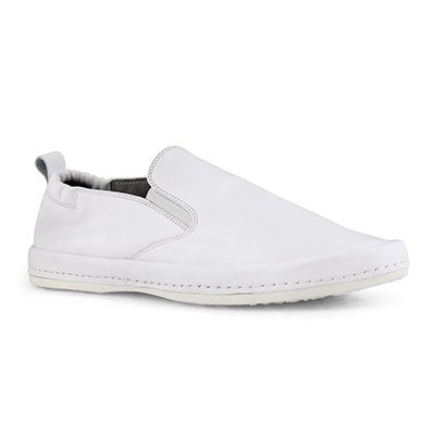Mns Pepe white casual slip on