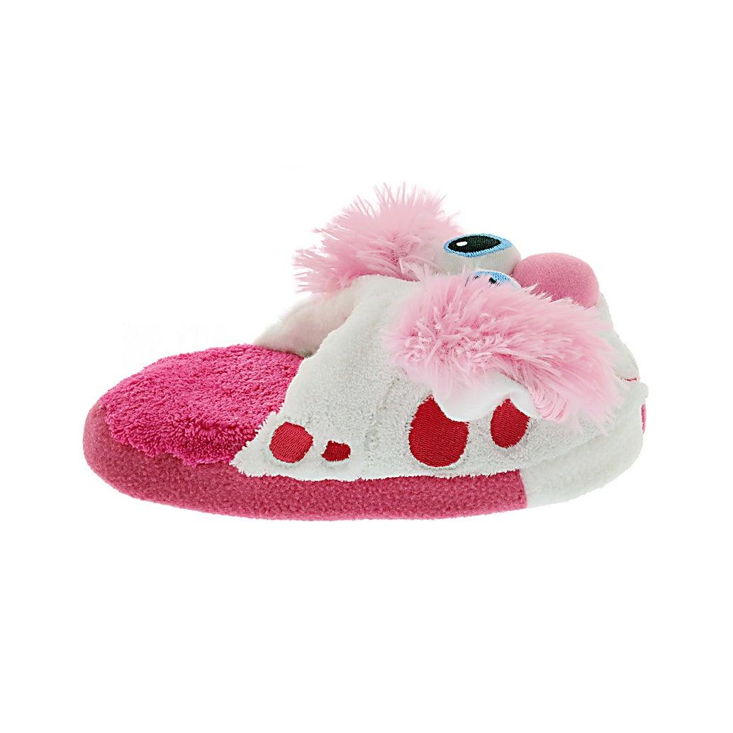 Kids Stompeez  Perky Puppy pink slipper