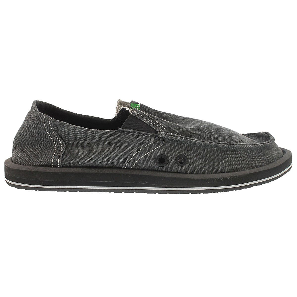 Mns Pick Pocket charcoal slip on shoe