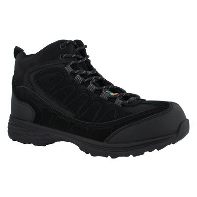 Mns Piston blk lace up CSA safety Hiker