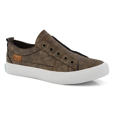 Lds Play bronze metallic fashion sneaker