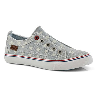 Lds Play denim fashion sneakers